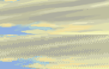 pixeling clouds