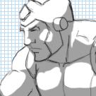 The making of the Tekken Megaman sprite